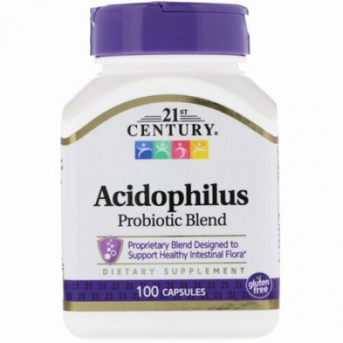 21st Century, アシドフィルスプロバイオティックブレンド、100錠