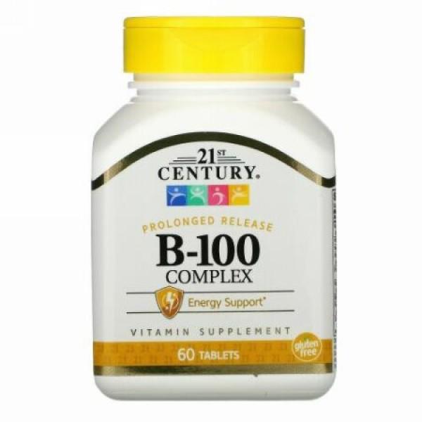 21st Century, B-100複合体, 持続放出, 60錠