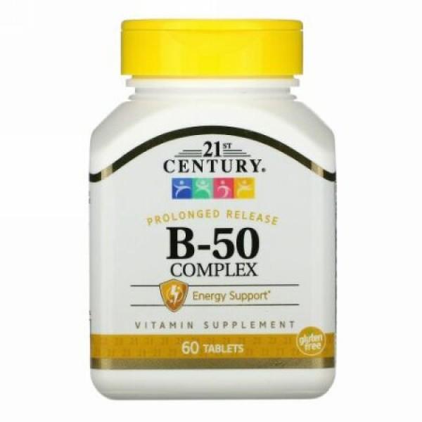 21st Century, B-50複合体、徐放性、60錠
