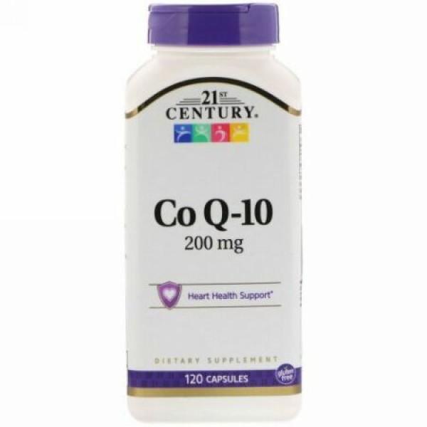 21st Century, CoQ10, 200 mg, 120 Capsules
