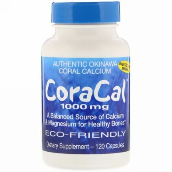 21st Century, CoraCal, 1,000 mg, 120 Capsules (Discontinued Item)