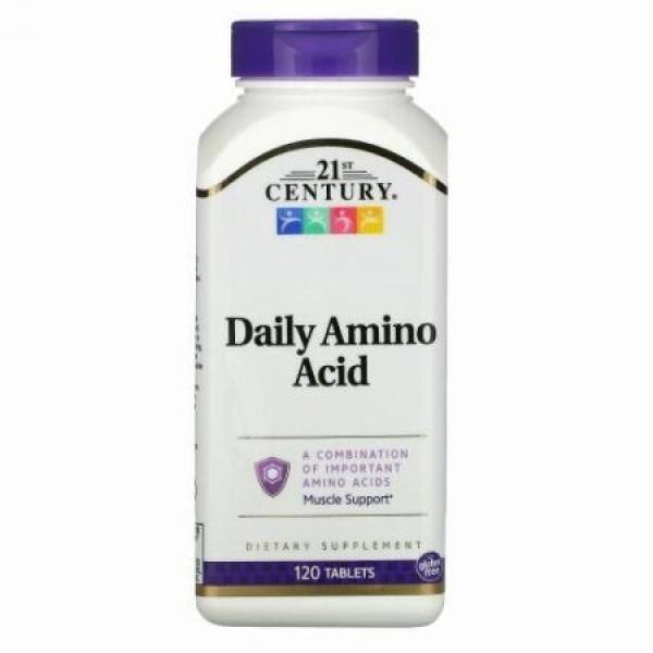 21st Century, Daily Amino Acid(毎日のアミノ酸)、タブレット120粒