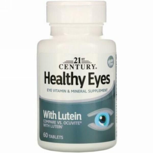 21st Century, ルテインによる眼の健康(Healthy Eyes with Lutein), 60錠
