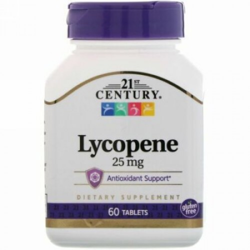 21st Century, Lycopene、25 mg、60粒