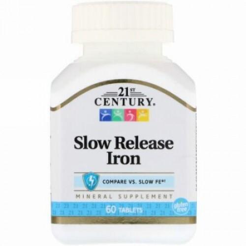 21st Century, 徐放鉄(Slow Release Iron), 60錠