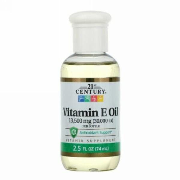 21st Century, Vitamin E Oil, 13,500 mg (30,000 IU), 2.5 fl oz (74 ml)