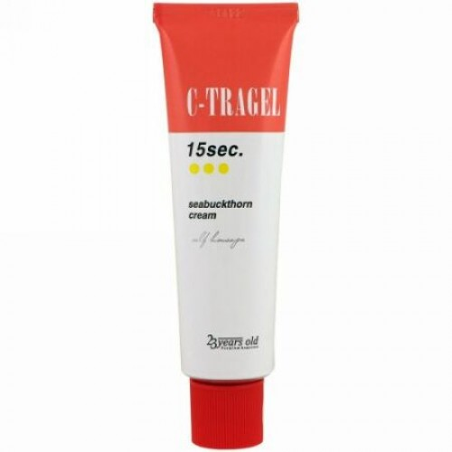 23 Years Old, C-Tragel、15秒シーバックソーンクリーム、50 g (Discontinued Item)