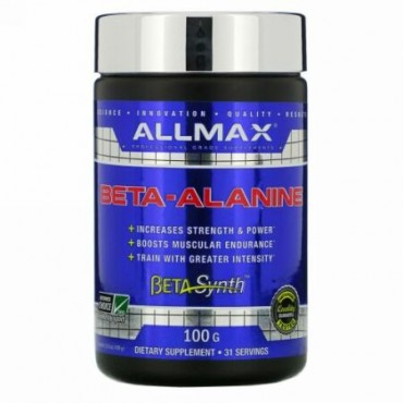 ALLMAX Nutrition, ベータアラニン、3.53 oz (100g)