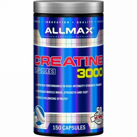 ALLMAX Nutrition, Creatine 3000, 3,000 mg, 150 Capsules