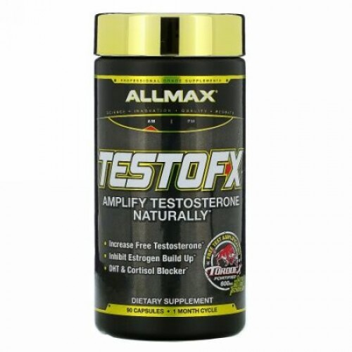 ALLMAX Nutrition, TestoFX(テストFX)、カプセル90粒