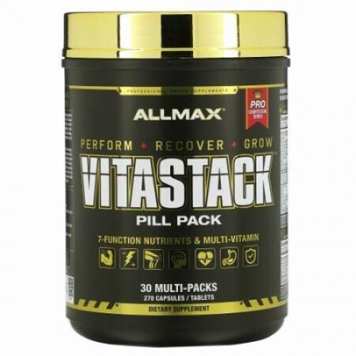 ALLMAX Nutrition, Vitastack, Pill Pack, 30 Multi-Packs