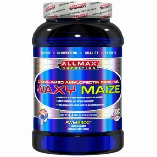 ALLMAX Nutrition, ワキシーメイズ、クロスリンク・アミロペクチン・カーブ・フュエル、 無香料、 70.6 oz (2、000 g) (Discontinued Item)