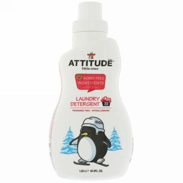 ATTITUDE, 子供たちのために, 洗濯石鹸, 無香料, 35.5液量オンス(1.05 l) (Discontinued Item)