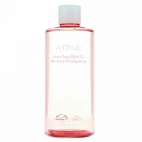 ATrue, Sweet Song Black Tea One-Step Cleansing Water, 300 ml (Discontinued Item)