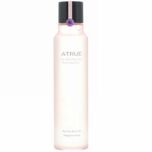 ATrue, バイオレットペタルブラック・ティーハイドレーティングトナー、180 ml (Discontinued Item)