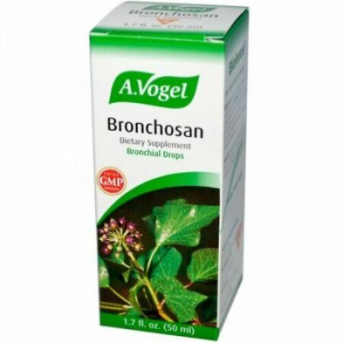 A Vogel, ブロンコサン, 気管支用ドロップ , 1.7液量オンス (50 ml) (Discontinued Item)