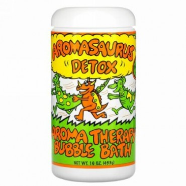 Abra Therapeutics, アロマザウルス・デトックス・お子様用アロマテラピーバブルバス、 20オンス (566 g)