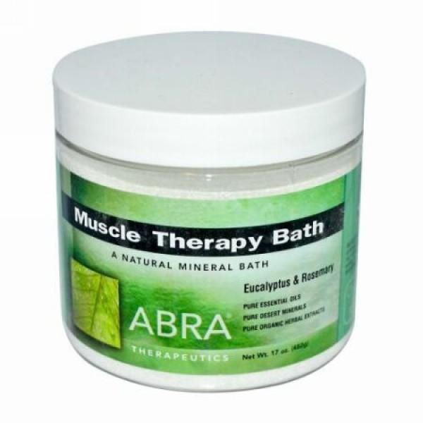 Abra Therapeutics, マッスルセラピーバス、ユーカリ & ローズマリー、17 oz (482 g) (Discontinued Item)