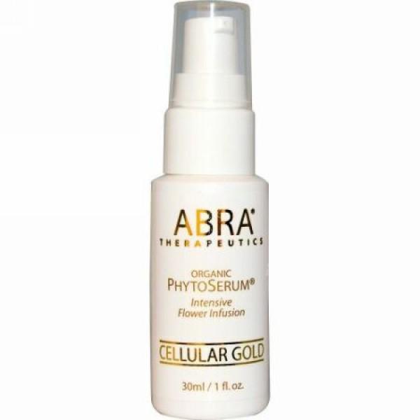 Abra Therapeutics, オーガニック フィトセラム®, セラーゴールド, 1 液量オンス (30 ml)