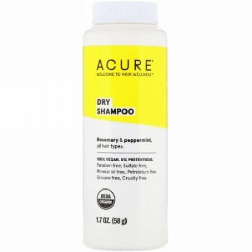 Acure, Organic Dry Shampoo、1.7 oz (58 g)