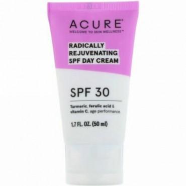 Acure, Radically Rejuvenating, Day Cream, SPF 30, 1.7 fl oz (50 ml)