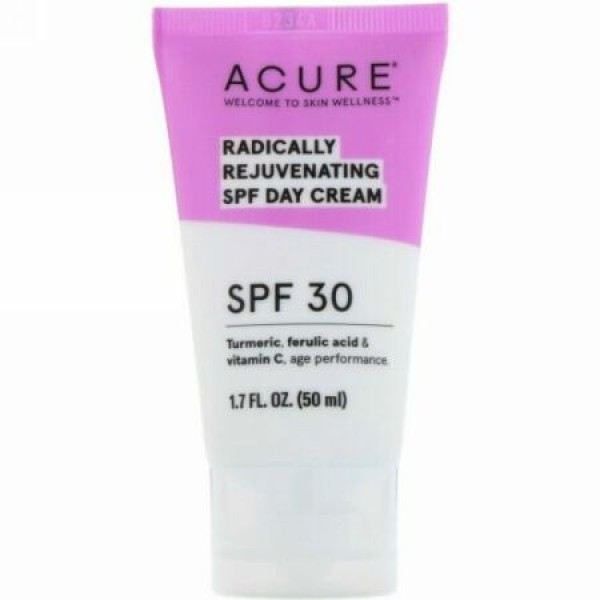 Acure, Radically Rejuvenating, Day Cream, SPF 30, 1.7 fl oz (50 ml)