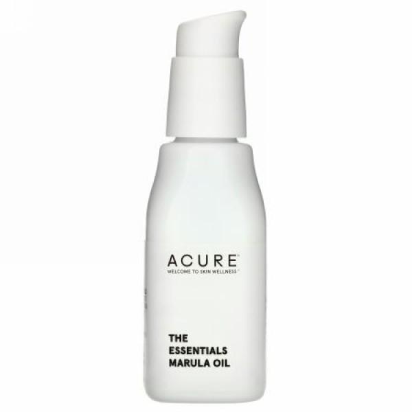 Acure, ジ・エッセンシャルズ、マルーラオイル、1 fl oz (30 ml)