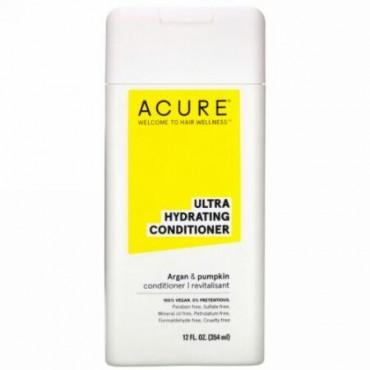 Acure, ウルトラハイドレーティングコンディショナー、アルガンオイル&パンプキン、354ml(12液量オンス) (Discontinued Item)