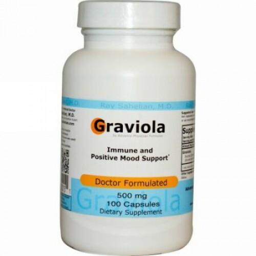 Advance Physician Formulas, グラビオラ, 500 mg, 100 カプセル (Discontinued Item)