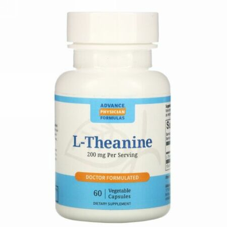 Advance Physician Formulas, L-テアニン、 200 mg、 60カプセル