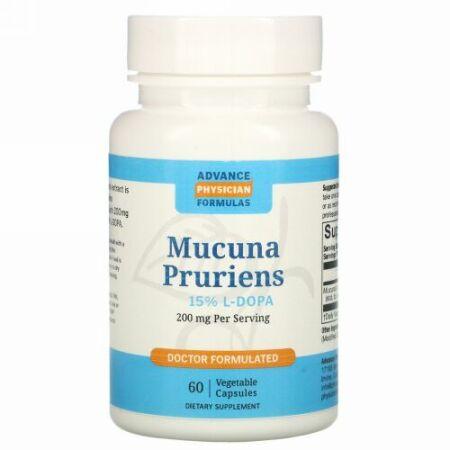 Advance Physician Formulas, ビロードマメ、200 mg、60カプセル