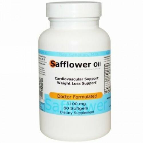 Advance Physician Formulas, ベニバナ油、1100 mg、60ソフトジェル (Discontinued Item)