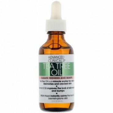 Advanced Clinicals, Tea Tree Oil, 1.8 fl oz (53 ml)