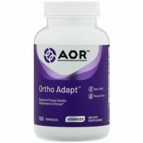 Advanced Orthomolecular Research AOR, Ortho Adapt、120粒