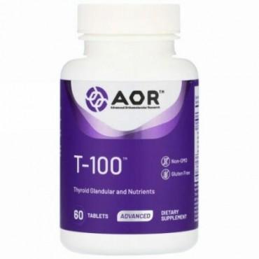 Advanced Orthomolecular Research AOR, T-100, 60 Tablets