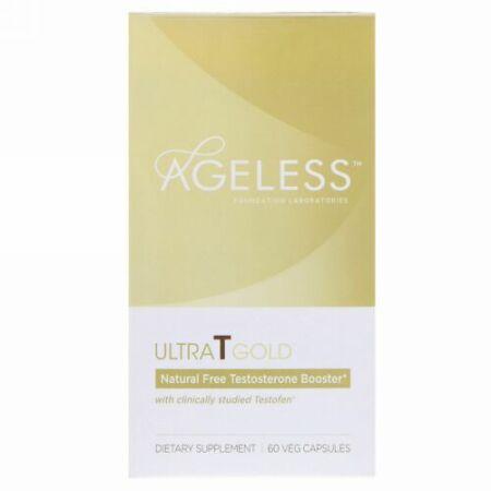 Ageless Foundation Laboratories, UltraT Gold, 60 Veg Capsules