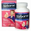 AirBorne, チュアブル錠、ベリー、64 チュアブル錠