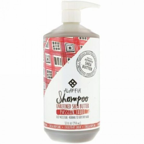 Alaffia, Shampoo, Passion Fruit, 32 fl oz (950 ml) (Discontinued Item)