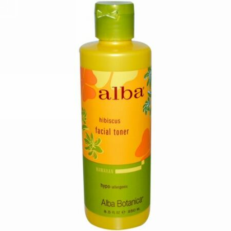 Alba Botanica, フェイシャルトナー、ハイビスカス、8.5液量オンス(250 ml) (Discontinued Item)