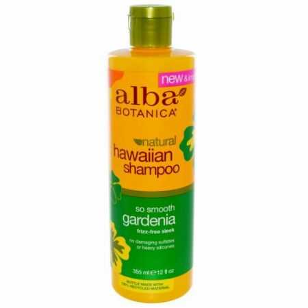 Alba Botanica, Natural Hawaiian Shampoo, So Smooth Gardenia, 12液量オンス (355 ml)