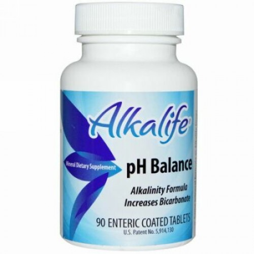 Alkalife, pH バランス, 90 腸溶性コーティング錠剤 (Discontinued Item)