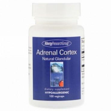 Allergy Research Group, アドレナルコルテックス ナチュラルグランデュラー(腺)、ベジカプセル100錠