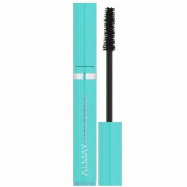 Almay, Extreme Length Waterproof Mascara, 040, Black, 0.21 fl oz (6.2 ml) (Discontinued Item)