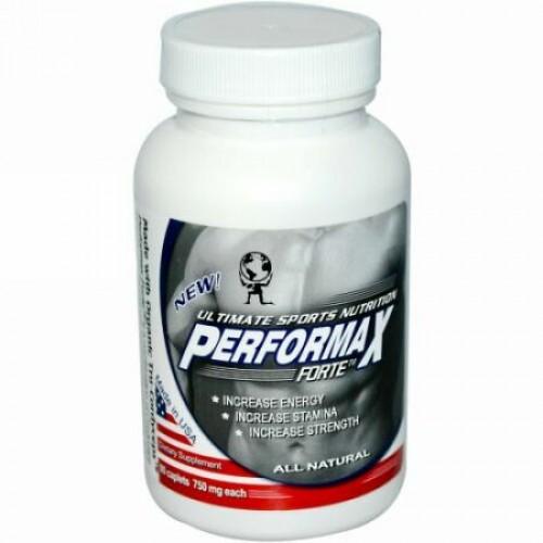 Aloha Medicinals, Performax Forte™, 究極のスポーツ栄養剤, 750 mg, 90 カプレット (Discontinued Item)