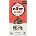Alter Eco, オーガニックチョコレートバー、ディープダークキノアクランチ、2.82オンス (80 g) (Discontinued Item)
