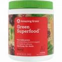 Amazing Grass, 緑のスーパーフード、ベリードリンクパウダー、 8.5 oz (240 g)