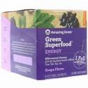 Amazing Grass, Green Superfood, Effervescent Greens Energy, Grape Flavor, 6 Tubes, 10 Tablets Each (Discontinued Item)