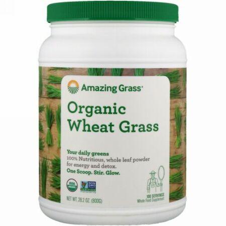 Amazing Grass, オーガニック小麦若葉、28.2 oz (800 g)