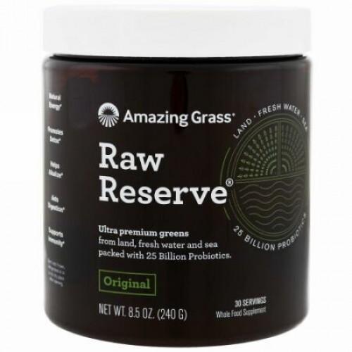 Amazing Grass, Green Superfood, Raw Reserve, 8.5 oz (240 g)