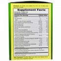American Health, エスター-C発泡性、ナチュラルレモンライムフレーバー、1000 mg、21パック、各0.35オンス(10 g) (Discontinued Item)